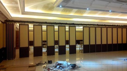 Penyekat ruangan Green Garden Resort Anyer Banten